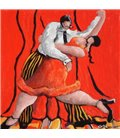 Tango dancers n°14