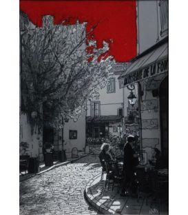 Henri de Savornin Lourmarin's street
