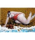 La baigneuse, la vaguelette et le crabe
