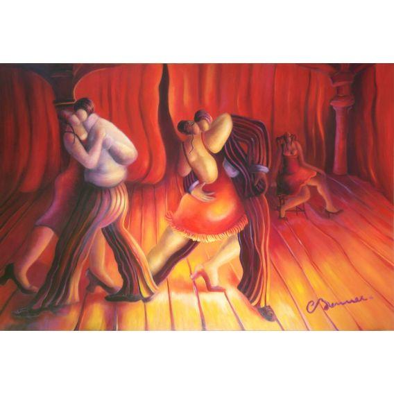 Le concours de tango