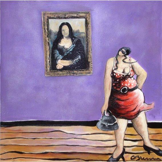 Julie au Louvre