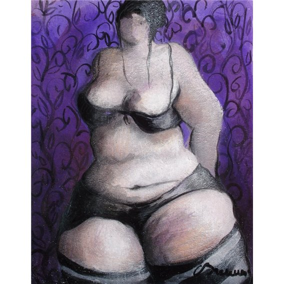 The purple tapestry