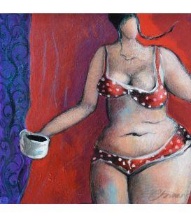Julie n'aime pas trop le thé et préfère le café