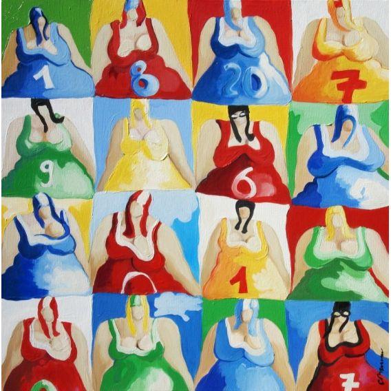 Les 16 bustes n°5