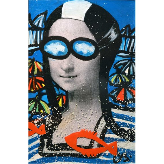 Mona à la plage