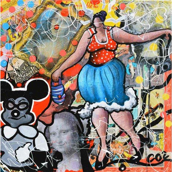 Julie rêve du Louvre