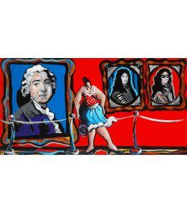 Julie au musée d'art moderne - La galerie des grands portraits