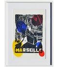 Marseille - allégorie en jaune rouge et bleu (encadré)
