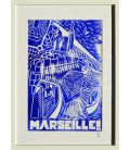 Marseille - The good mother 20/30 (framed)
