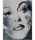 Monica B. - Face (beveled cardboard)
