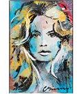 BB - Portrait de Brigitte Bardot (Carton biseauté)