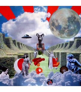 Psychic TV - Collages on canvas by David Ameil