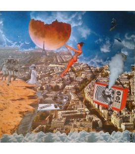 Dangereux - Collages sur toile de david Ameil