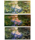 Les nymphéas - Claude Monet - Original ayant servi de guide colorimétrique