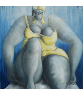 Swimmer n°6 - Yellow