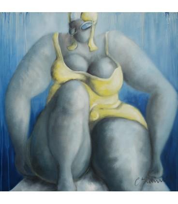 Swimmer n°6 - Jaune