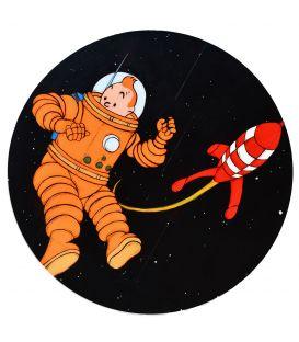 Tintin dans la Lune