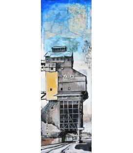 Distillerie du Tennessee - Tableau de Bertrand Lefebvre