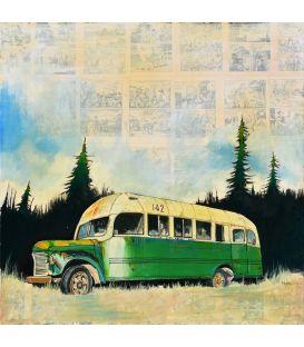 Le bus magique 142 - Tableau de Bertrand Lefebvre