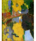The talisman - Paul Sérusier - Soundtrack n°84 - Original painting used as color guide