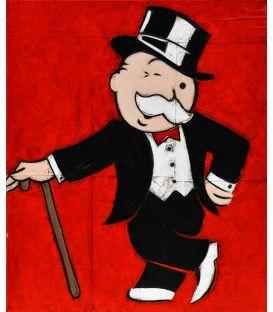 Monsieur Monopoly - Du flouze! - Tableau de Kromo