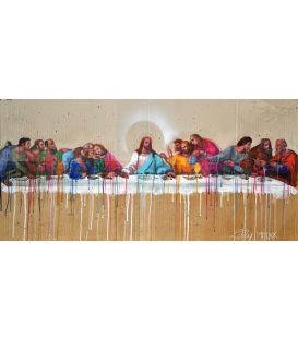 La petite cène - Jésus, entouré de ses disciples