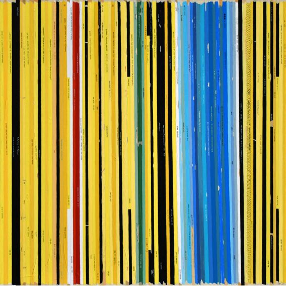 L'or de l'azur - Joan Miró - Soundtrack n°90 - Painting by Didier Delgado