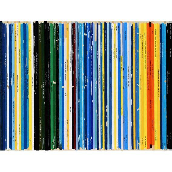 La nuit étoilée - Van Gogh - Bande son n°91 - Tableau de Didier Delgado