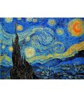 La nuit étoilée - Van Gogh - Bande son n°91 - Tableau original ayant servi de guide colorimétrique