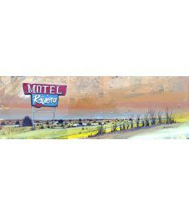 Motel Riviera - Tableau de Bertrand Lefebvre