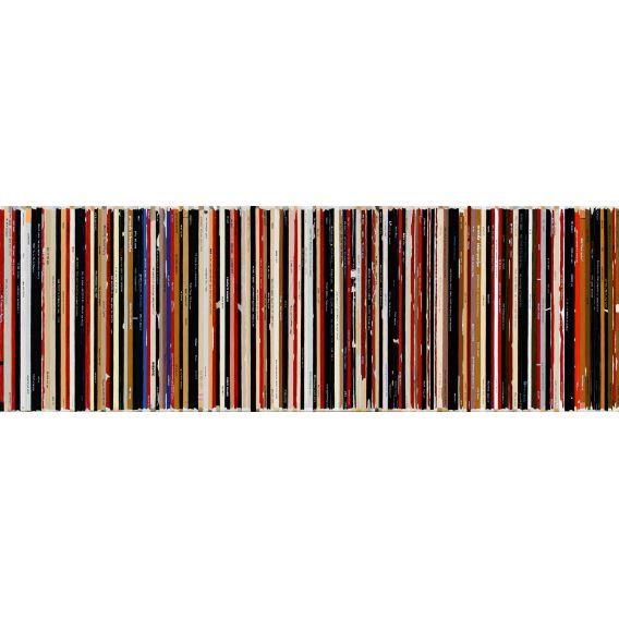 Ach alma manetro - Villeglé Hains - Bande son n°97 - Tableau de Didier Delgado