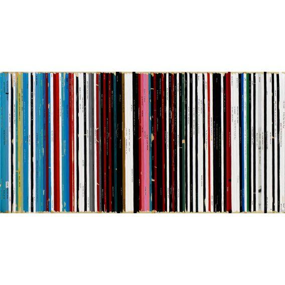 La Colomba - Basquiat - Soundtrack n°100 - Painting by Didier Delgado
