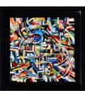 Abstraction of the remains n°26 - Framed