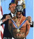 Barack Obama and Tupac