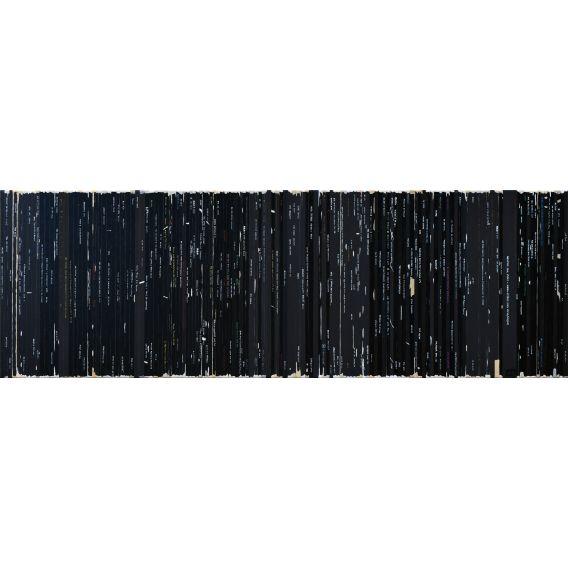 Remix Soulages - Soundtrack n°95 - Painting by Didier Delgado