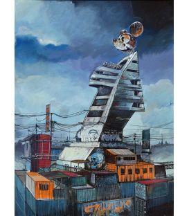 Walt Disney compagnie - Tableau de Bertrand Lefebvre
