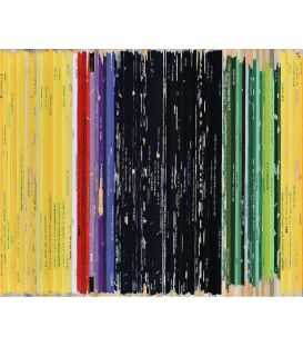 Rothko 1949 - Soundtrack n°64 - Acrylic on canvas by Didier Delgado