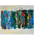 Fields - Joan Mitchell - Soundtrack n°103 - Original painting used as color guide