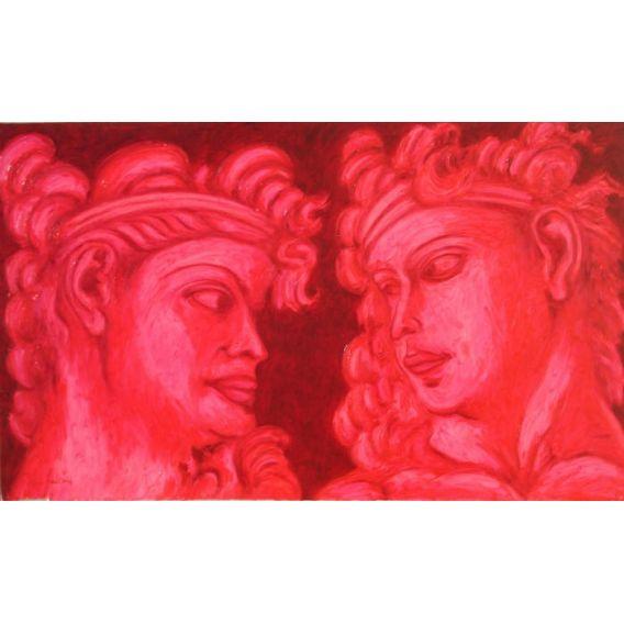 Série de visages Grecs n°7