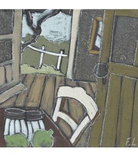La chaise et les 2 citrons verts