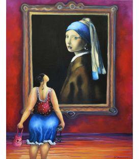 La jeune fille à la perle captive Julie
