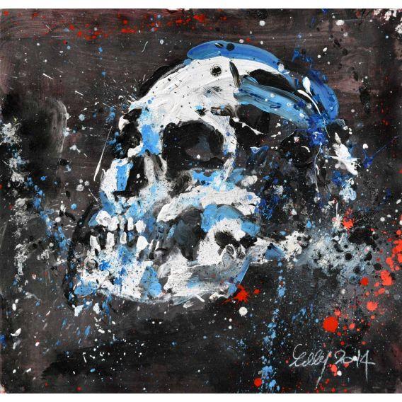 Contemplation Skull