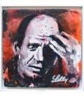 Jackson Pollock (framed)