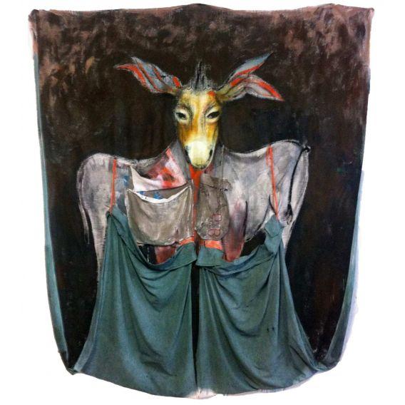 L'âne aux sacs
