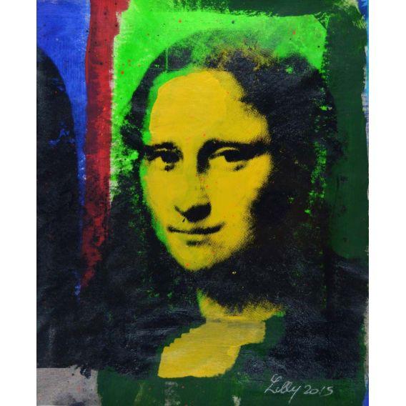 Mona Lisa yellow