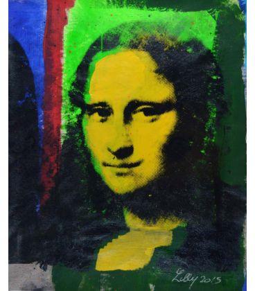 Mona Lisa jaune