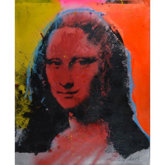 Mona Lisa red