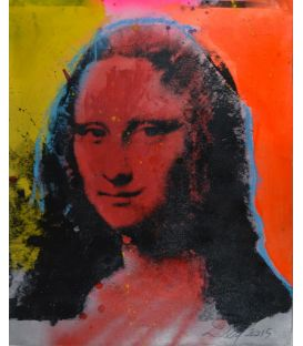 Mona Lisa rouge