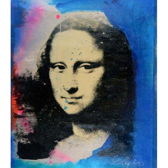 Mona Lisa blanche