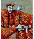 Le musicien et l'oiseau